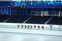SCHAATSEN: HEERENVEEN: 08-06-2017, IJsstadion Thialf, Zomerijs, ©foto Martin de Jong