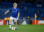 Tom Davies of Everton during the Europa League Group E match at Goodison Park Stadium, Liverpool. Picture date: September 28th 2017. Picture credit should read: Simon Bellis/Sportimage