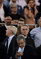 Calcio, Tim Cup: finale Juventus vs Lazio. Roma, stadio Olimpico, 17 maggio 2017.<br /> Monsignor Georg Gaenswein, center, waits for the start of the Italian Cup football final match between Juventus and Lazio at Rome's Olympic stadium, 17 May 2017.<br /> UPDATE IMAGES PRESS/Isabella Bonotto