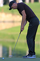 Ross Fisher (ENG) putts on the 6th green during Saturday's Round 3 of the 2018 Turkish Airlines Open hosted by Regnum Carya Golf &amp; Spa Resort, Antalya, Turkey. 3rd November 2018.<br /> Picture: Eoin Clarke | Golffile<br /> <br /> <br /> All photos usage must carry mandatory copyright credit (&copy; Golffile | Eoin Clarke)