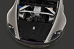 High angle engine detail of a 2007 - 2009 Aston Martin Vantage V8 Roadster Coupe.