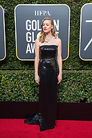 Yvonne Strahovski attends the 75th Annual Golden Globes Awards at the Beverly Hilton in Beverly Hills, CA on Sunday, January 7, 2018.<br /> *Editorial Use Only*<br /> CAP/PLF/HFPA<br /> &copy;HFPA/Capital Pictures