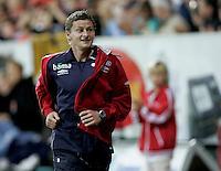 Fredrikstad, 20060830. FFK - Dagfinn Enerlys Dreamteam. Ole Gunnar Solskjær. Til inntekt for Dagfinn Enerlys Fond.