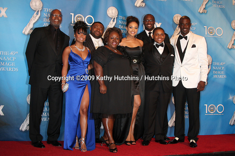 THE GAME CAST  in the Press Room  at the 40th Annual NAACP Image Awards  at the Shrine Auditorium in Los Angeles, CA on .February 12, 2009.©2009 Kathy Hutchins / Hutchins Photo..                .