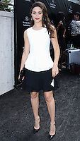 NEW YORK CITY, NY, USA - SEPTEMBER 05: Actress Emmy Rossum attends the Project Runway Fashion Show during Mercedes-Benz Fashion Week Spring 2015 at the Lincoln Center on September 5, 2014 in New York City, New York, United States. (Photo by Jeffery Duran/Celebrity Monitor)