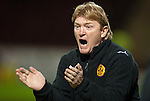 PICTURE BY - ROB CASEY .DESCRIPTION - MOTHERWELL v DUNFERMLINE.PIC SHOWS - MOTHERWELL BOSS STUART MCCALL