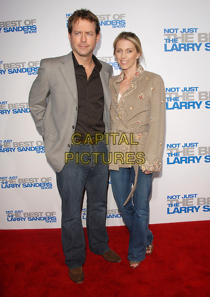 """GREG KINNEAR & GUEST.attends The Larry Sanders Show Wrap Party and DVD Launch Party for """"Not Just the Best of Larry Sanders Show DVD"""" held at The Regent Beverly Wilshire in Beverly Hills, California, USA,  April 10th 2007..full length.CAP/DVS.©Debbie VanStory/Capital Pictures"""
