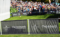 Branding and signage. <br /> New Zealand Blackcaps v England. 5th ODI International one day cricket, Hagley Oval, Christchurch. New Zealand. Saturday 10 March 2018. &copy; Copyright Photo: Andrew Cornaga / www.Photosport.nz