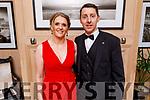 Robert and Caroline Kennedy attending the Scoil Eoin Valentine's Ball Fundraiser in the Ballygarry House Hotel on Friday night.