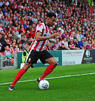 Lincoln City's Matt Green<br /> <br /> Photographer Andrew Vaughan/CameraSport<br /> <br /> The EFL Sky Bet League Two - Lincoln City v Morecambe - Saturday August 12th 2017 - Sincil Bank - Lincoln<br /> <br /> World Copyright &copy; 2017 CameraSport. All rights reserved. 43 Linden Ave. Countesthorpe. Leicester. England. LE8 5PG - Tel: +44 (0) 116 277 4147 - admin@camerasport.com - www.camerasport.com