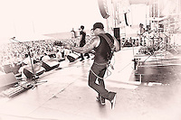 CAVO performing at Pointfest 27 at Verizon Wireless Amphitheater in Maryland Heights, MO on Aug 14, 2010.