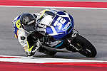Isaac Vinales (32) in action during the Red Bull Grand Prix of the Americas practice sessions at Circuit of the Americas racetrack in Austin,Texas.