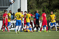 Lakewood Ranch, Fla. - December 11, 2013: 2013 US Soccer U17 Nike International Friendlies. Portugal and Brazil played to a 1-1 draw at the Premier Sports Campus.