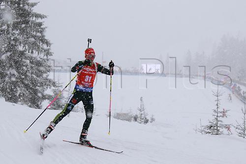 8th December 2017, Biathlon Centre, Hochfilzen, Austria; IBU Womens Biathlon World Cup; Franziska Hildebrand