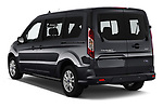 Car pictures of rear three quarter view of 2019 Ford Transit-Connect XLT 5 Door Combi Angular Rear