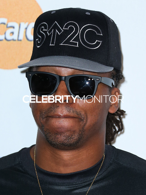 HOLLYWOOD, LOS ANGELES, CA, USA - SEPTEMBER 05: Lupe Fiasco arrives at the 4th Biennial Stand Up To Cancer held at Dolby Theatre on September 5, 2014 in Hollywood, Los Angeles, California, United States. (Photo by Xavier Collin/Celebrity Monitor)