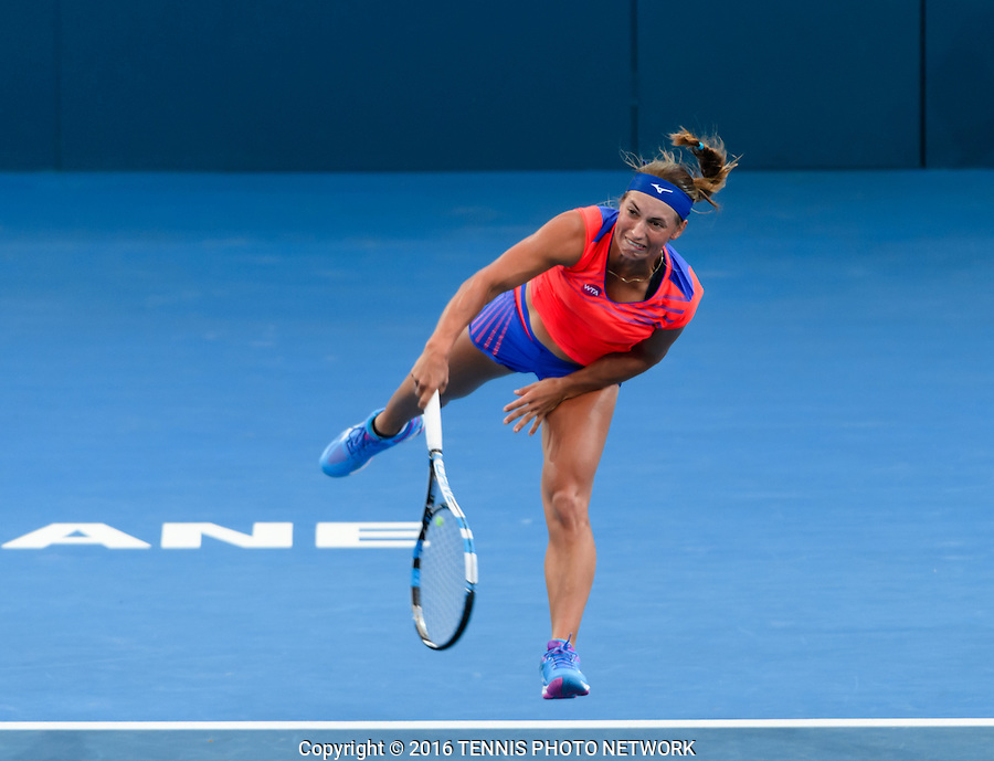YULIA PUTINTSEVA of KAZAKHSTAN (KAZ) <br /> <br /> 2017 BRISBANE INTERNATIONAL, PAT RAFTER ARENA, BRISBANE TENNIS CENTRE, BRISBANE, QUEENSLAND, AUSTRALIA<br /> <br /> &copy; TENNIS PHOTO NETWORK