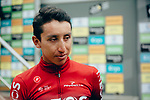 The race is stopped in Val d'Isere due to heavy hailstorms and impassable road with the times taken at the summit of Col d'Iseran meaning Egan Bernal (COL) Team Ineos takes over the race leaders Yellow Jersey at the end of Stage 19 of the 2019 Tour de France originally running 126.5km from Saint-Jean-de-Maurienne to Tignes but cut short to 88.5 km, France. 26th July 2019.<br /> Picture: ASO/Thomas Maheux | Cyclefile<br /> All photos usage must carry mandatory copyright credit (© Cyclefile | ASO/Thomas Maheux)