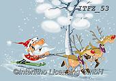 Fabrizio, Comics, CHRISTMAS SANTA, SNOWMAN, WEIHNACHTSMÄNNER, SCHNEEMÄNNER, PAPÁ NOEL, MUÑECOS DE NIEVE, paintings+++++,ITFZ53,#x# ,funny