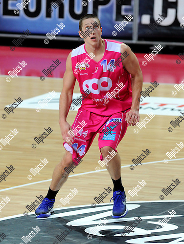 2011-10-25 / Basketbal / seizoen 2011-2012 / Antwerp Giants - Pepinster / Maxime de Zeeuw..Foto: Mpics