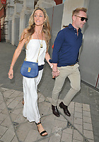 Storm Keating and Ronan Keating at the Syco summer party, Victoria and Albert Museum, Cromwell Road, London, England, UK, on Monday 09 July 2018.<br /> CAP/CAN<br /> &copy;CAN/Capital Pictures