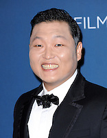 LOS ANGELES, CA - NOVEMBER 02:  PSY, Park Jae sang at  LACMA 2013 Art + Film Gala held at LACMA  in Los Angeles, California on November 2nd, 2012 in Los Angeles, CA., USA.<br /> CAP/DVS<br /> &copy;DVS/Capital Pictures