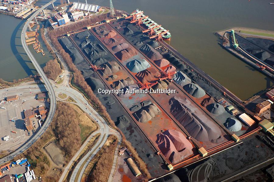 Hansaport im Hafen Hamburg: EUROPA, DEUTSCHLAND, HAMBURG, (EUROPE, GERMANY), 23.02.2014 Hansaport im Hafen Hamburg