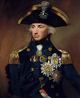 BNPS.co.uk (01202 558833)<br /> Pic: NMRN/BNPS<br /> <br /> Admiral Lord Nelson.<br /> <br /> Auctioneers expect a high price for this poignant item of Nelsonian history...<br /> <br /> The service medal awarded to one of the men who carried a mortally wound Lord Nelson down from the deck where he was shot to his deathbed has emerged for sale for £30,000.<br /> <br /> Able Seaman James Sharman was 20 years old when he served on the HMS Victory during the Battle of Trafalgar on October 21, 1805.<br /> <br /> After Nelson was shot by an eagle-eyed French sniper in the rigging, he helped carry him down to the Orlop deck.<br /> <br /> Sharman was also the inspiration for the Charles Dickens' character Ham Peggotty in his 1850 novel David Copperfield, after the famous author read about his heroic rescue of a crew member from a sea disaster.<br /> <br /> Sharman's Naval Service Medal, with a Trafalgar clasp, is being sold with auction house Peter Wilson, of Nantwich, Cheshire.