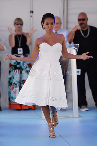 MIAMI, FL - JUNE 24: Jada Pinkett Smith attends Magic Mike XXL cast honored with stars on The Official Miami Walk Of Fame at Bayside Marketplace on June 24, 2015 in Miami, Florida. Credit: mpi04/MediaPunch