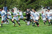 Pleasanton Cavaliers Junior Varsity action during the 2013 season. (Photo by Alan Greth /AGP Photography),