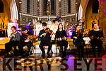 Performing at the  the Liam Lawton Concert ' O Holy Night' at Castleisland Parish Church  in aid of Brosna Parish Church Renovation Fund on Monday were Brosna Musicians,  Gretta Curtin, Cian Daly, Conor Daly, Evelyn Healy, Susan Curtin  Mairéad Corridan
