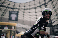 Bernhard 'Bernie' Eisel (AUT/Dimension Data) before his start in the Orange V&eacute;lodrome<br /> <br /> 104th Tour de France 2017<br /> Stage 20 (ITT) - Marseille &rsaquo; Marseille (23km)
