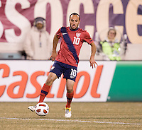 Landon Donovan. The USMNT tied Argentina, 1-1, at the New Meadowlands Stadium in East Rutherford, NJ.