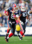 11 October 2009: Buffalo Bills' quarterback Trent Edwards scrambles for yardage during a game against the Cleveland Browns at Ralph Wilson Stadium in Orchard Park, New York. The Browns defeated the Bills 6-3 for Cleveland's first win of the season...Mandatory Photo Credit: Ed Wolfstein Photo
