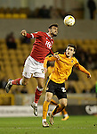 Marlon Pack of Bristol City competes with Michal Zyro of Wolves - Football - Wolverhampton Wanderers vs Bristol City - Molineux Wolverhampton - Sky Bet Championship - 8th March 2016 - Season 2015/2016 - Picture Malcolm Couzens/Sportimage