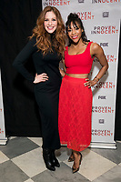 """NEW YORK - FEBRUARY 13: Rachelle Lefevre and Nikki M. James attend a screening of FOX's """"Proven Innocent"""" at The Paley Center for Media on February 13, 2019 in New York City. (Photo by Ben Hider/Fox/PictureGroup)"""