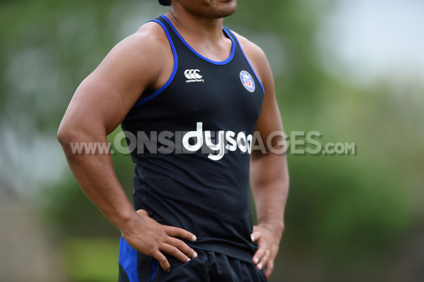 A general view of the  Bath Rugby 2017/18 training vest. Bath Rugby pre-season S&C session on June 22, 2017 at Farleigh House in Bath, England. Photo by: Patrick Khachfe / Onside Images