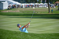 Henrik Stenson (SWE) hits his second shot on 1 during 4th round of the World Golf Championships - Bridgestone Invitational, at the Firestone Country Club, Akron, Ohio. 8/5/2018.<br /> Picture: Golffile | Ken Murray<br /> <br /> <br /> All photo usage must carry mandatory copyright credit (© Golffile | Ken Murray)