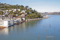 Homes on hills, Sausalito California