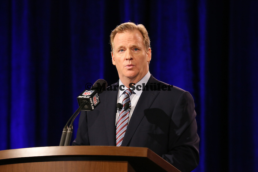 Commissioner Roger Goodell - NFL Pressekonferenz, Super Bowl XLIX, Convention Center Phoenix