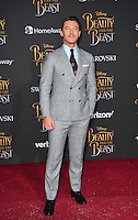 Luke Evans at the premiere for Disney's &quot;Beauty and the Beast&quot; at El Capitan Theatre, Hollywood. Los Angeles, USA 02 March  2017<br /> Picture: Paul Smith/Featureflash/SilverHub 0208 004 5359 sales@silverhubmedia.com