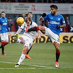 09.12.2018 Dundee v Rangers: Daniel Candeias and Paul McGowan