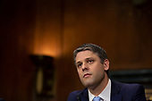 Justin Reed Walker testifies before the U.S. Committee on the Judiciary during his confirmation hearing to be United States District Judge for the Western District Of Kentucky on Capitol Hill in Washington D.C., U.S. on July 31, 2019.<br /> <br /> Credit: Stefani Reynolds / CNP