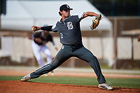 Jared Southard during the WWBA World Championship at the Roger Dean Complex on October 20, 2018 in Jupiter, Florida.  Jared Southard is a right handed pitcher from Leander, Texas who attends Rouse High School and is committed to Texas.  (Mike Janes/Four Seam Images)