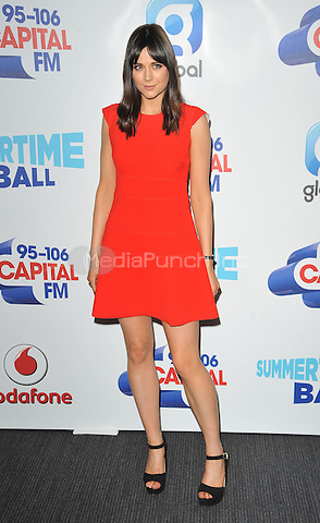 Lilah Parsons at the Capital FM Summertime Ball in aid of the Help a London Child charity, Wembley Stadium, Wembley, London, England, UK, on Saturday 11 June 2016.<br /> CAP/CAN<br /> &copy;CAN/Capital Pictures /MediaPunch ***NORTH AND SOUTH AMERICA ONLY***