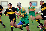 Drury centre C. Anderson.  Counties Manukau Premier Club Rugby, Drury vs Bombay played at the Drury Domain, on the 14th of April 2006. Bombay won 34 - 13.