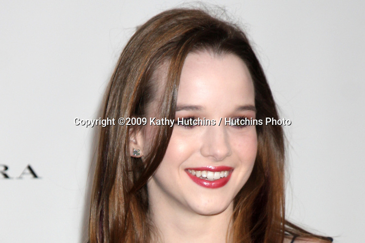 Kay Panabaker arriving at the 14th Annual Los Angeles Antiques Show Opening Night Preview Party Benefiting P.S. Arts at Barker Hanger in.Santa Monica, California on April 22, 2009.©2009 Kathy Hutchins / Hutchins Photo....                .