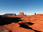 Monument Valley rock formations - Goulding - Arizona/Utah border - USA