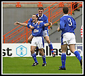5/10/02       Copyright Pic : James Stewart                     .File Name : stewart-hamilton v stranraer 14.IAN HARTY IS CONGRATULATED BY JOHN FALLON AFTER HE SCORED THE SECOND....James Stewart Photo Agency, 19 Carronlea Drive, Falkirk. FK2 8DN      Vat Reg No. 607 6932 25.Office : +44 (0)1324 570906     .Mobile : + 44 (0)7721 416997.Fax     :  +44 (0)1324 570906.E-mail : jim@jspa.co.uk.If you require further information then contact Jim Stewart on any of the numbers above.........