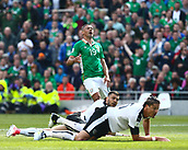 June 11th 2017, Dublin, Republic Ireland; 2018 World Cup qualifier, Republic of Ireland versus Austria;  Jonathan Walters of Ireland reacts to a missed shot on goal